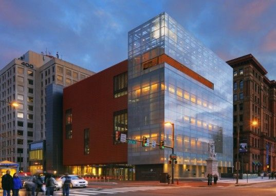 National Museum of American Jewish History Protected by a Terra Cotta Eco Facade | Inhabitat -