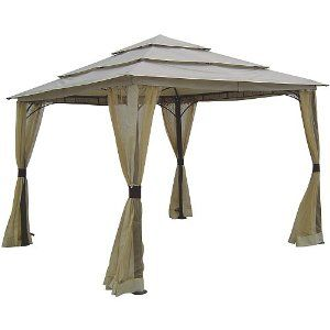 great gazebo for your patio. sells for less at Home Depot.