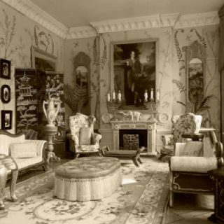 Jan 1 Edwardian Style In A Modern Home