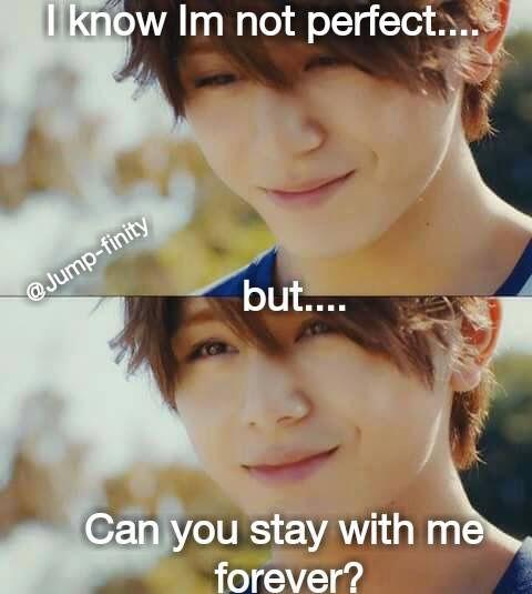 Hey Say Jump Memes Ahhhh Yama Chan I Ll Stay With You Forever Koishiteru