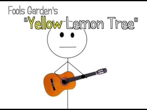Lemon Tree Fools Garden S Sub Español E Ingles Youtube Canciones Limonero Ingles