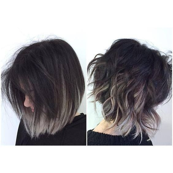 Fading Tips And A Style That Looks Good Straight Or Wavy Curls Hair Styles Short Hair Styles Short Hair Color