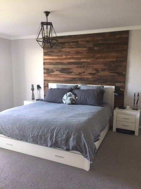 Bedroom Design Bedroom Inspiration Northern Rivers Northern Rivers Recycled Timber In 2020 Feature Wall Bedroom Master Bedroom Wood Wall Wood Walls Bedroom