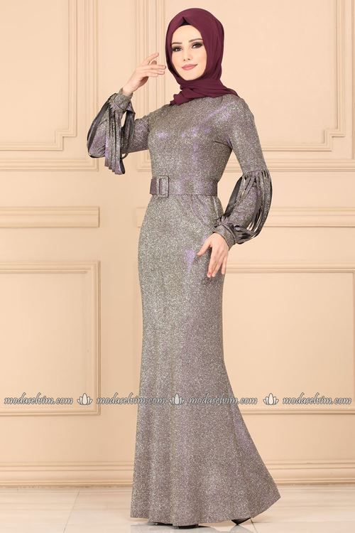 Modaselvim 99 Tl 159 Tl Abiyeler Kemerli Isiltili Abiye 2162ms212 Murdum The Dress Resmi Elbise Uzun Elbise