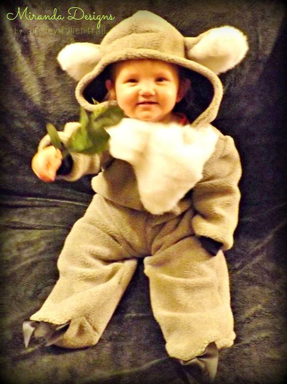 It's Hallowe'en, Baby! {Koala costume}