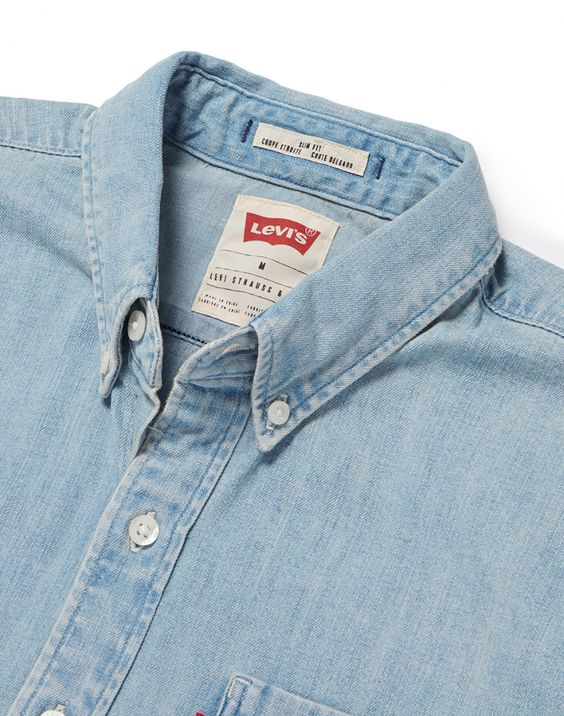 <> One Pocket Shirt in Denim / by Levi's