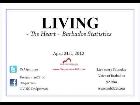 LIVING, hosted by Dr Alfred Sparman talks this week about heart statistics in Barbados and their significance to public health.