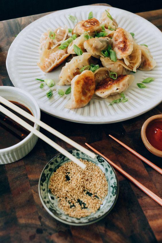 Easy Korean Dumpling Recipes - The Chriselle Factor