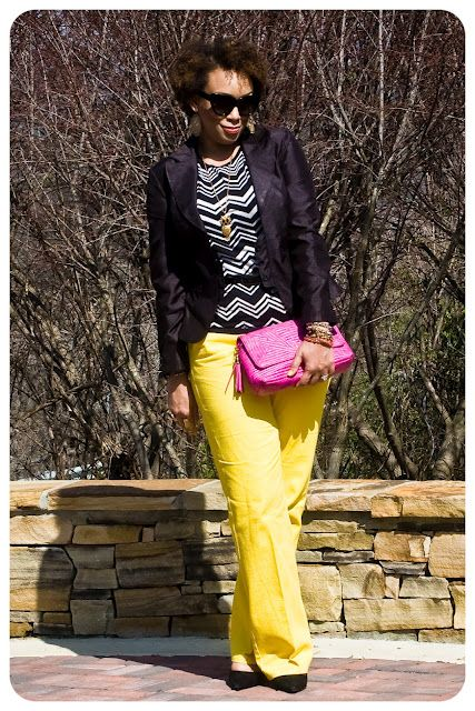I want to sew some yellow pants