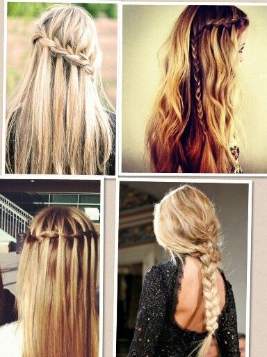 Astounding Easy Braided Hairstyles Braided Hairstyles And Girl Hair On Pinterest Hairstyles For Women Draintrainus
