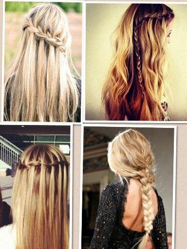 Marvelous Easy Braided Hairstyles Braided Hairstyles And Girl Hair On Pinterest Short Hairstyles Gunalazisus