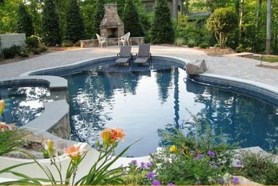 Small backyard oasis swimming pools free form freeform pools sometimes referred to as natural - How to create a small outdoor oasis ...