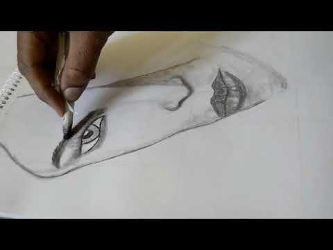 رسم امرأه بقلم الرصاص Draw A Woman By Pencil Animal Tattoo Tattoos