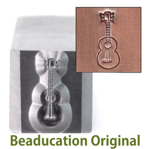 Amazon.com: Guitar Metal Design Stamp -Beaducation Original: Toys & Games
