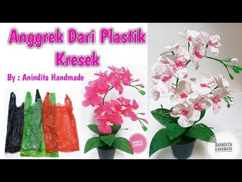 Cara Membuat Bunga Anggrek Dari Kantong Kresek Anggrek Dari Kantong Kresek Anindita Handmade Youtube Di 2020 Bunga Bunga Botol Plastik Bunga Buatan Sendiri