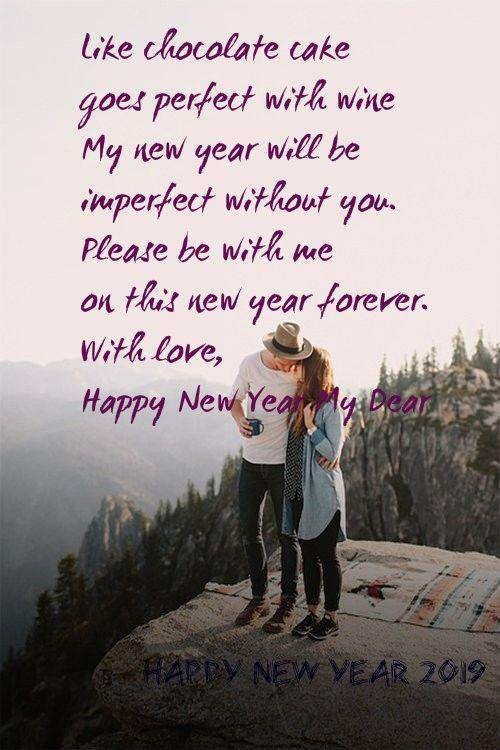Happy New Year Love Shayari Happy New Year Love Quotes Happy New Year Quotes Fiance Quotes