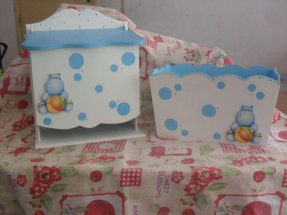Pa aleras para bebes pintadas buscar con google cosas for Manualidades decoracion bebe