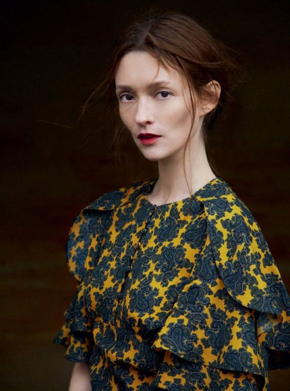 Audrey Marnay in Harper's Bazaar UK October 2015 by Erik Madigan Heck