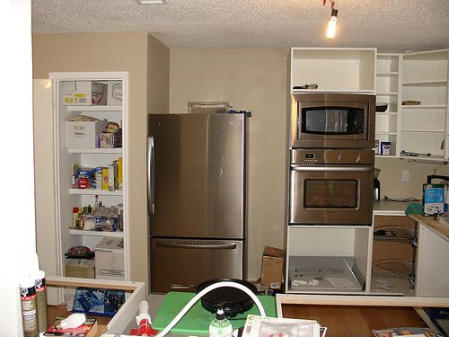 Double Oven and Microwave in same 80inch Cabinet? - IKEA FANS- See  thumbnail.