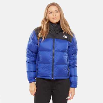 The North Face Damen 1996 Retro Nuptse Daunenjacke blau M