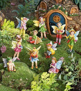 fairy Dollhouse Landscaping Pinterest Gardens Garden