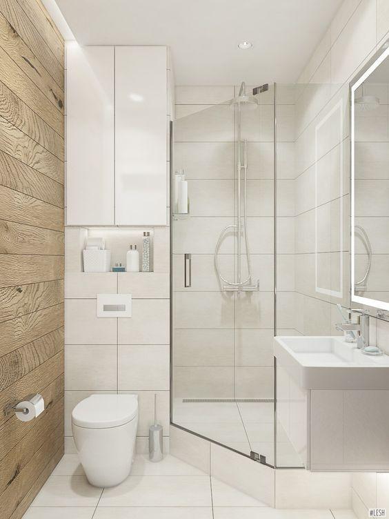 Planos Cuartos De Baño Modernos Pequeños  new york