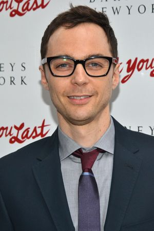 The Big Bang Theory star Jim Parsons is back in New York and ready to root for his Normal Heart costar, I'll Eat You Last director Joe Mantello.(© David Gordon)