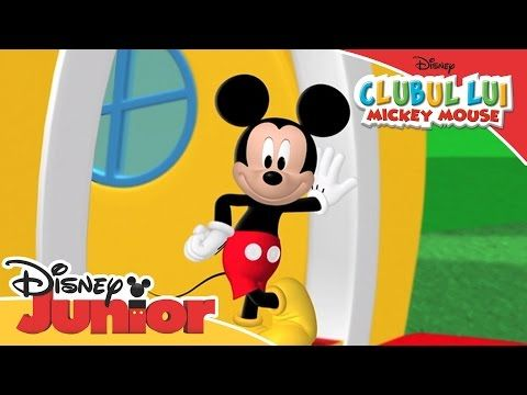 Clubul Lui Mickey Mouse Cântec Tematic Numai La Disney Junior Youtube Disney Junior Mickey Mouse Mickey And Friends