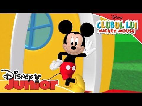 Clubul Lui Mickey Mouse Cântec Tematic Numai La Disney Junior Youtube Disney Junior Mickey Mouse Disney Fun