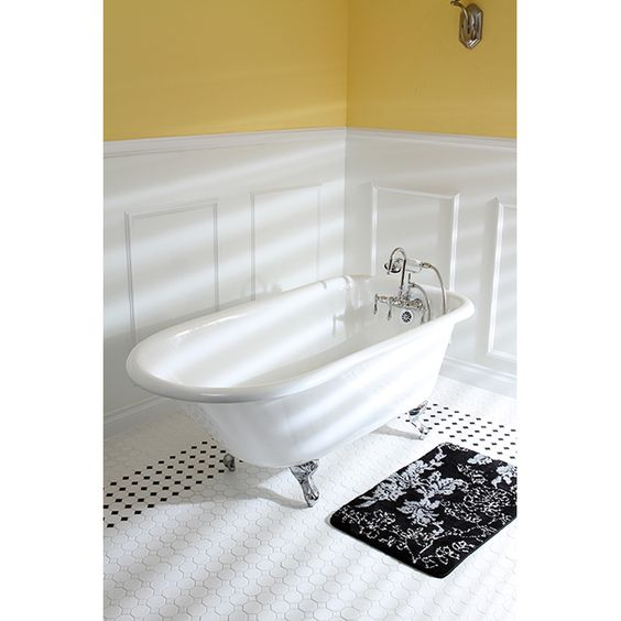 Fashion Plumbing - PVCT3D543019NT-GN-PKG SERIES 54 X 30 INCH SINGLE ENDED CAST IRON CLAWFOOT TUB VALUE PACKS, $1,350.00 [5% Discount w/ Free Shipping Included] (http://www.fashionplumbing.com/princeton-brass-pvct3d543019nt-gn-pkg-series-54-x-30-inch-single-ended-cast-iron-clawfoot-tub-value-packs/)