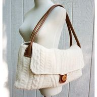felted wool sweater bag
