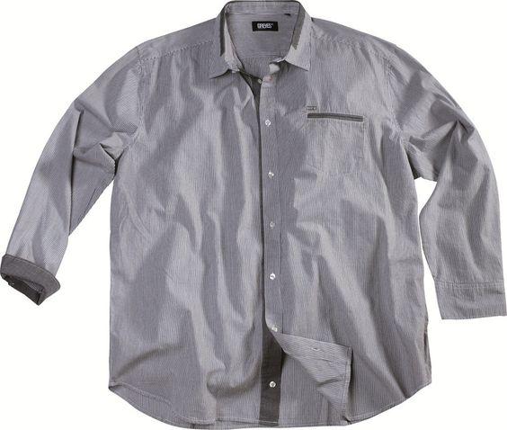 [img-6651-left-thickbox_default] Chemise Allsize Gamme Greyes 100 % coton   Manches longues à carreaux  Col classique avec bande de tissu fashion  Coupe échancré.  Allsize vous propose cette chemise Fashion dans les tailles L au 8 XL