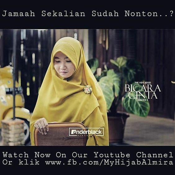 Watch Now On Our Youtube Channel Or klik http://ift.tt/1OnAb7l . Klik and Follow Our Sponsor @myhijabalmira . Creative by @underblackmail