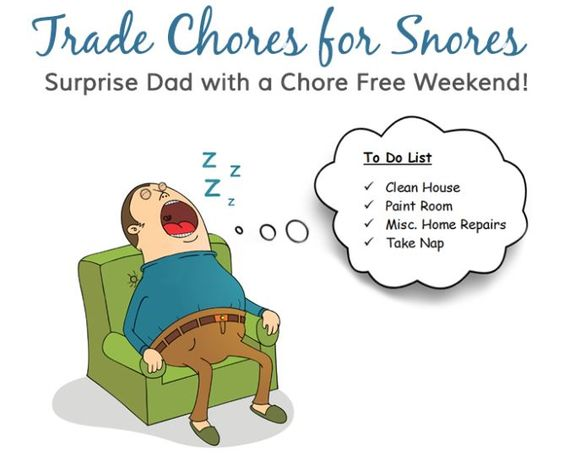 """Molly Maid, Mr. Handyman and ProTect Painters are partnering together to give you the ultimate Father's Day gift - a chore free weekend! Enter our """"Trade Chores for Snores"""" sweepstakes for your chance to win a $500 Molly Maid gift certificate, a $1,000 Mr. Handyman gift certificate AND a $500 ProTect Painters gift certificate! PLUS, the grand prize winner also receives a brand new recliner! Simply click on this link to get started: https://apps.facebook.com/tradechoresforsnores"""