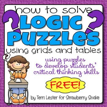 Critical thinking puzzles with answers