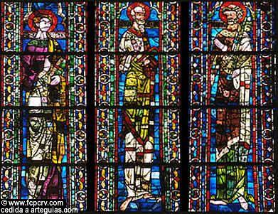 Vidriaera del Real Monasterio de las Huelgas en Burgos