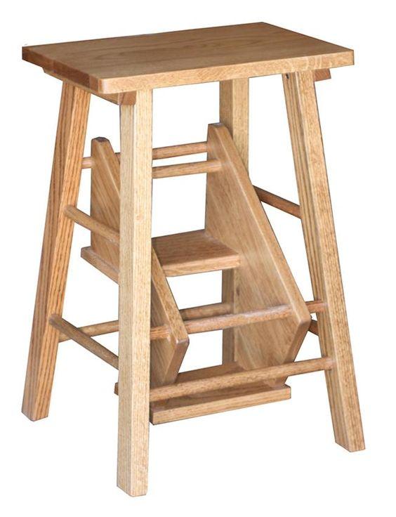 Amish Folding Step Stool Kid Amish And Furniture