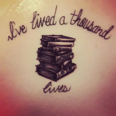 From all the many submitted to our Facebook page, here are the best literary tattoos of 2015! Maybe some inspiration if you're looking for a permanent literary scribe yourself.