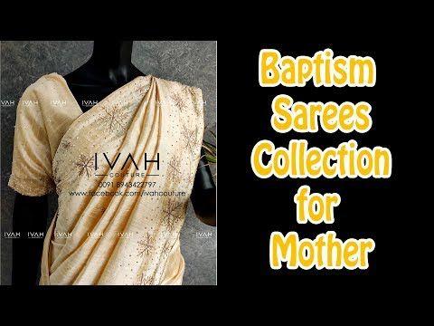 Baptism Saree For Mother I Baptism Saree In Kerala India I Holy