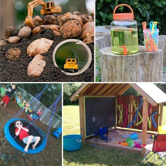 Family Backyard Designs : ideas yards memories chalkboard ideas backyards families the
