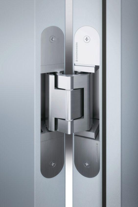 Concealed Hinge Example Concealed Door Hinges Door Hardware Sliding Door Handles