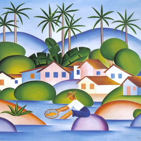 "thosebrazilianthings: """" Those Brazilian Things: Tarsila do Amaral "" """