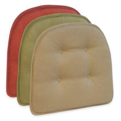 Klear Vu Tufted Batali Gripper® Chair Pad - BedBathandBeyond.com