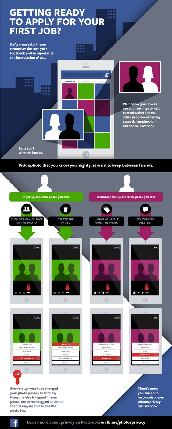 getting ready to apply for your first job infographic facebook getting ready to apply for your first job infographic facebook photo privacy settnigs