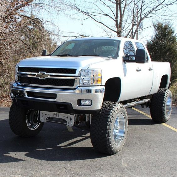 I heard money can't buy happiness.. But it can buy a jacked up truck & I've…