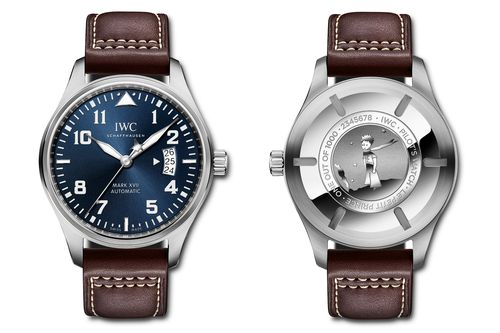 """Introducing The IWC Pilot's Watch Mark XVII And Big Pilot's Watch Perpetual Calendar Editions """"Le Petit Prince"""""""