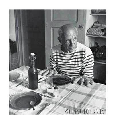 Robert Doisneau - Les pains de Picasso