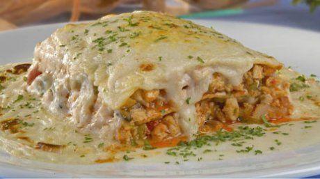Lasagna de Pollo-recetas