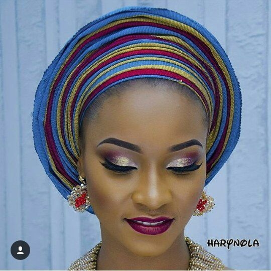Fab! #asoebi #asoebispecial #speciallovers #wedding #makeoverby @harynola
