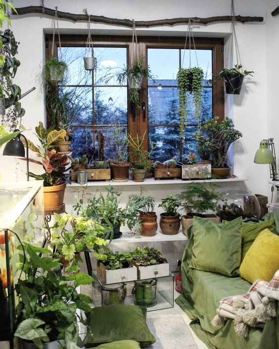 50 Indoor Garden Ideas With Pictures You Had Me At Gardening Indoor Garden Room Garden Room Garden Room Ideas